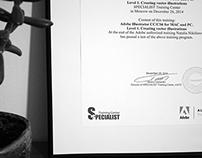 Дипломы и сертификаты.
