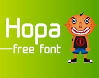 Hopa / Free Font