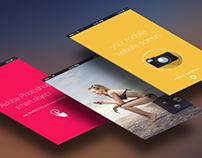 Mobile App Presentation Mockup PSD