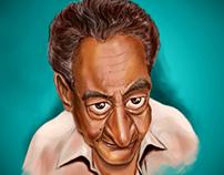 Al-Abnoody Caricature ... كاريكاتير الأبنودى  الخال