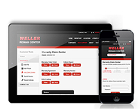 Weller Reman Center Mobile & Tablet App