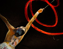 Rhythmic gymnastics by Strekosa Design