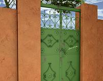 Sudanese old door