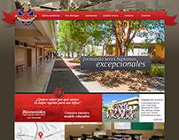Web Colegio Británico