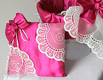 Match Pairs- Wedding basket and Ring Pillow