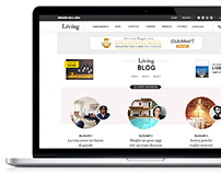Living.corriere.it - Redesign Blogs