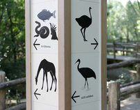 Signage in Rotterdam Zoo/Diergaarde Blijdorp