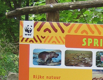 Informationpanels  WWF + Dutch Zoo Federation