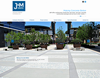J&M Concrete Contractors Website Design
