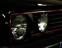 VW MK2 Golf GTi 16v Shoot