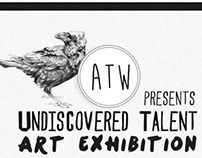 A 1000 words Art Exhibition Poster