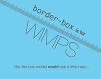 CSS Box Model Sliding Ruler