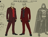 CAPED - Character Concept Art