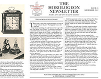 The Horologean Newsletter - Winter 2012