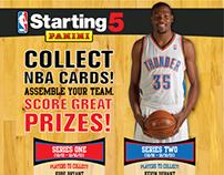 NBA Print Material - Starting 5 Print Material