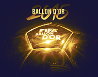 Ballon D'or 2015 - Messi/Ronaldo/Neymar