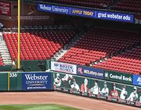 Busch Stadium Signage