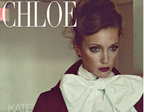 Chloe Magazine Cover Story w/Katie Cassidy
