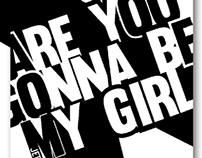 Lyrical Typography - Are You Gonna Be My Girl
