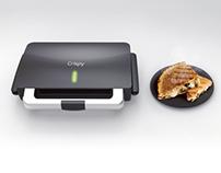 Crispy - 3 in 1 Grill