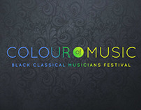 Colour of Music Motion Graphics Spot