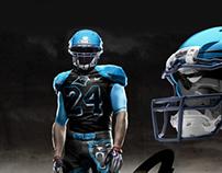 Carolina Panthers Uniform Concept