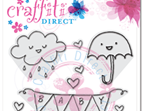 Design Work for Craffiti Direct - Clear Stamp Sets