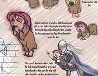 Character Design: False Hope from Pandora's Box