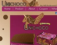 Unichoco Mockup Website