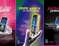 Nokia / Blackberry / T-Mobile - Newspaper Ads