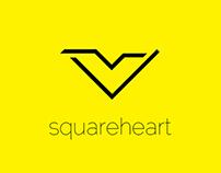 SquareHeart Logo