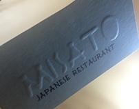 Misato Japanese Restaurant Business Cards