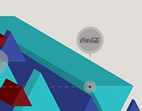 Piezas gráficas | Coca-Cola