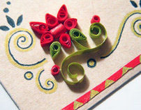 Paper quill envelopes