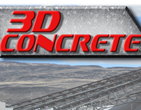 3D Concrete Logo and Photo
