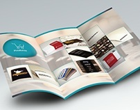 Tri-Fold Product Catalogue