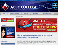 ACLC College of GenSan website (www.aclcgensan.net)