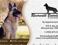 Business Cards for WindWalker Kennels