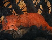 A Fox Through a Dark Wood