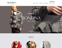 Rondina New York Responsive Website / UI Design