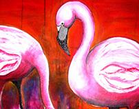 Acrylic Paintings of Wild Animals