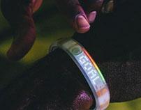 Nike - White Ice Fuel Band | Photography