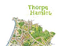 Thorpe Hamlet Map