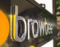 Browbee visual identity