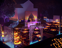 Egyptian Wedding / Geneva - 3D Visualisation