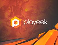 Playeek website
