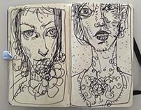Personal Work : Sketchbooks