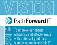 Path Forward Vision Mission Values Card