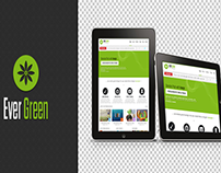 Evergreen/premium PSD Template