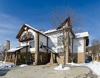 """Gutzul's House"" hotel in Mykulychyn, Ukraine"